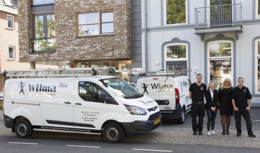 Welkom bij Wijma Schoorsteenvegen, de schoorsteenveger voor Friesland, Groningen en Drenthe!